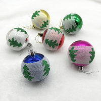 MONDECASA brand colored shatterproof tree hang balls plastic decorations ornaments christmas ball