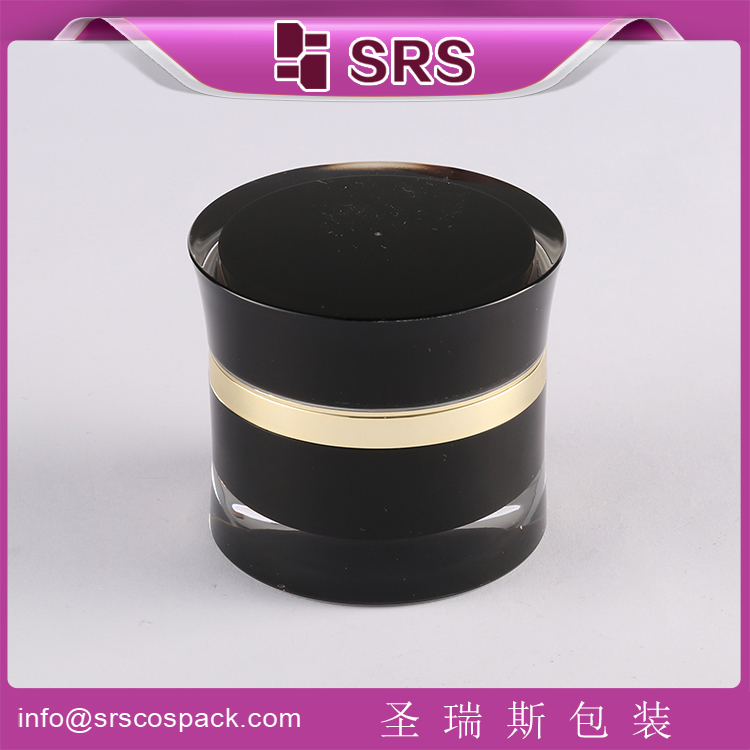 srs manufacturer wholesale acrylic small cosmetic jar , small cream packaging 10g 5g mini jar , plastic small 10ml 5ml jar