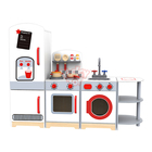 2019 Pretend food cooking play set toy kids children Wooden kitchen toy set