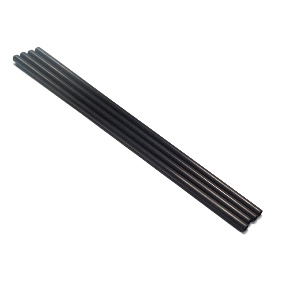 carbon fiber Billiards Pool Cue snooker cue tapered carbon fiber shaft (21.36mm taper to 12.4mm od ,740mm Length )