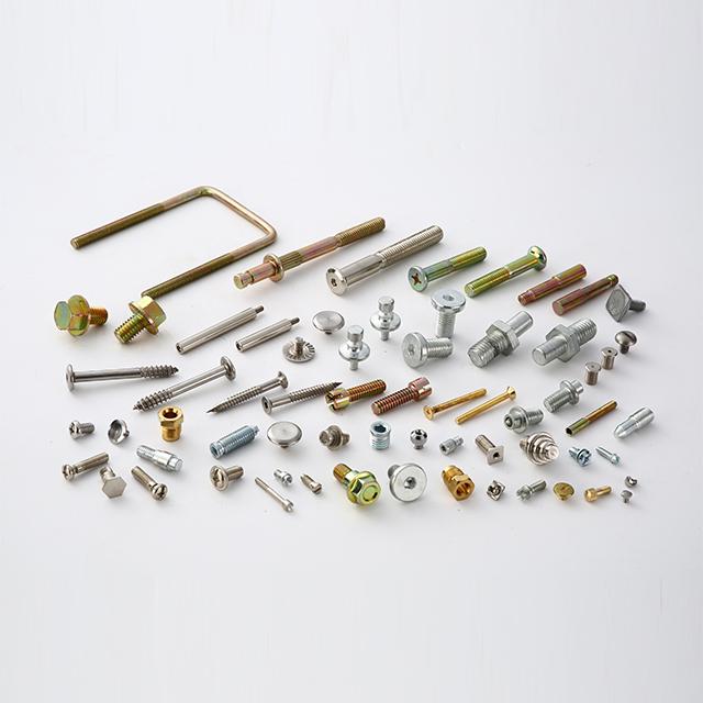 الفولاذ المقاوم للصدأ السيارات أجزاء السحابات الباردة البند البراغي والصواميل