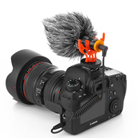 2020 Top video microphone 3.5mm MIC-1 digital video DV camera Studio Stereo Camcorder for Canon Nikon DSLR Camera
