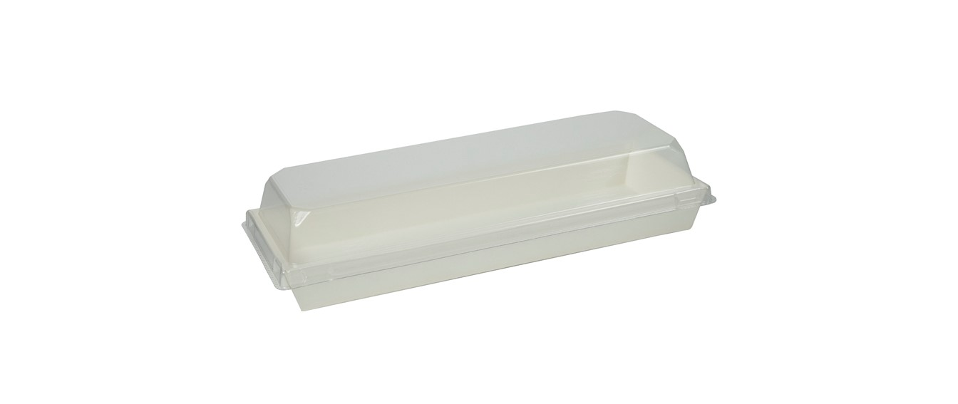 Rectangular Eco-Friendly Disposable Paper Takeout Food Containers