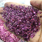 Christmas Craft Flake Glitter Supply Different Colors Bulk Flake Color Shift Chameleon Glitter for Make Up Leather Printing Craft