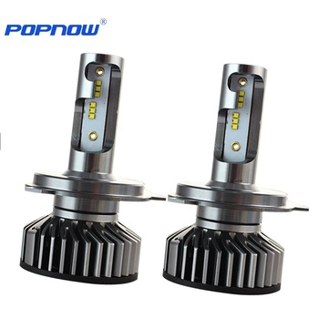 POPNOW P8 H1 H4 H7 H11 9005 9006 car projector led headlight bulbs 90w