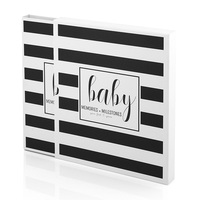 wholesale new born milestone album my first year baby record memory book
