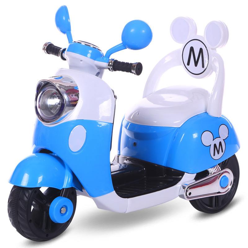 New type of children's riding <strong>electric</strong> motorcycle battery three wheel pedal charging