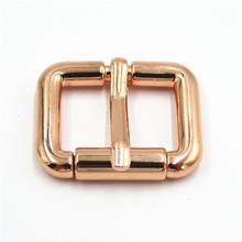 Rose Gold <span class=keywords><strong>25mm</strong></span> <span class=keywords><strong>Metalen</strong></span> Roller <span class=keywords><strong>Gesp</strong></span> Voor Leer