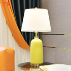 American Study American Light Luxury Table Lamps Desk Lamp Ceramic Decorative Lamp For Study Table