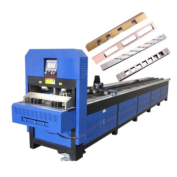 China ss304 square tube hole hydraulic automatic cnc tube punching machine
