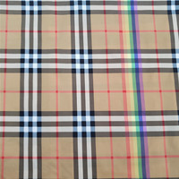 high quality 50d*50d plain Polyester fabric with printed