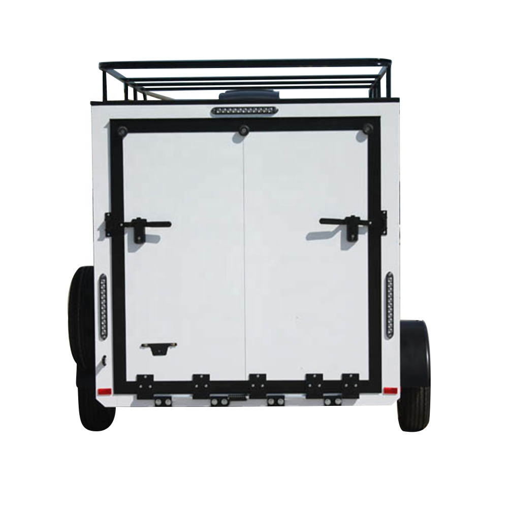 tow behind atv toy hauler trailers