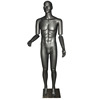 International fashion adjustable arms cheap men body mannequin