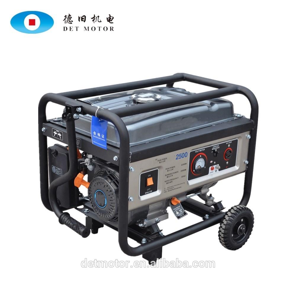 China 5kw gerador a gasolina portátil monofásico 6500 preços de gerador honda 5kva