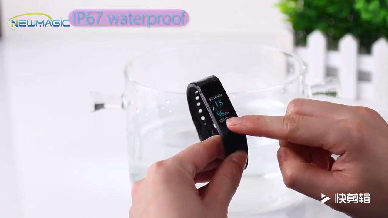 2020 Shenzhen Monitor de ritmo cardíaco rastreador de sueño reloj inteligente del deporte pulsera de muñeca banda inteligente