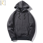 men sport wholesale plain black custom logo hoodie brand