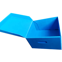 High quality stackable plastic corrugated box