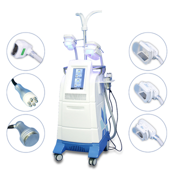 6 in 1 multifunction 360 4 heads Cryolipolyse machine 4 handle weight loss machine