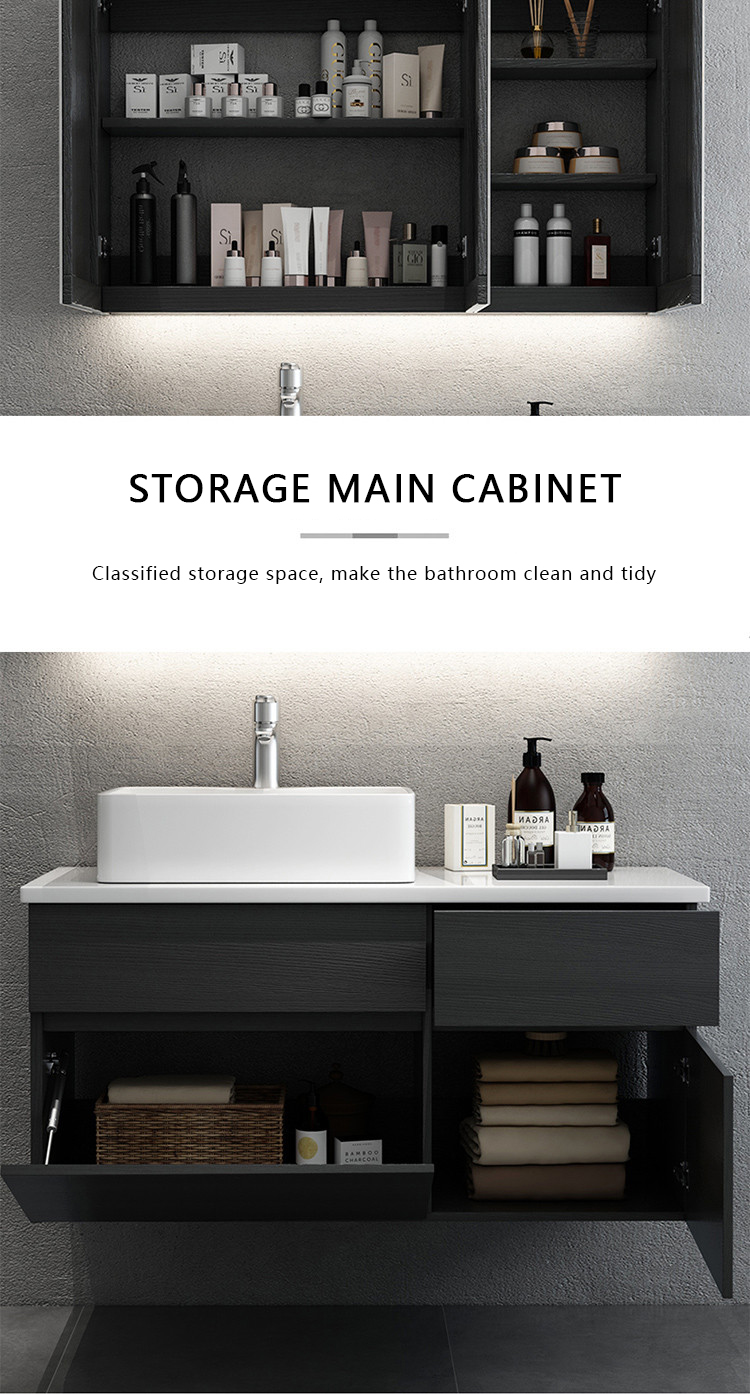 modern rv wood bath furniture bathroom cabinets vanity china