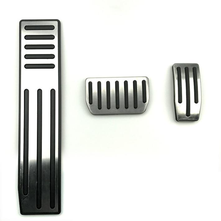Tesla Model X/S Auto Aluminium Pedaal Covers/Accelerator/Rem/Voetpedaal Pads-Een Set van 3 Decoratie