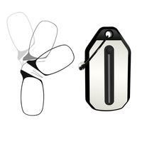 2020 New clip nose reading glasses compact and convenient as a Keychains Ultra-thin profile Fits in your wallet pocket