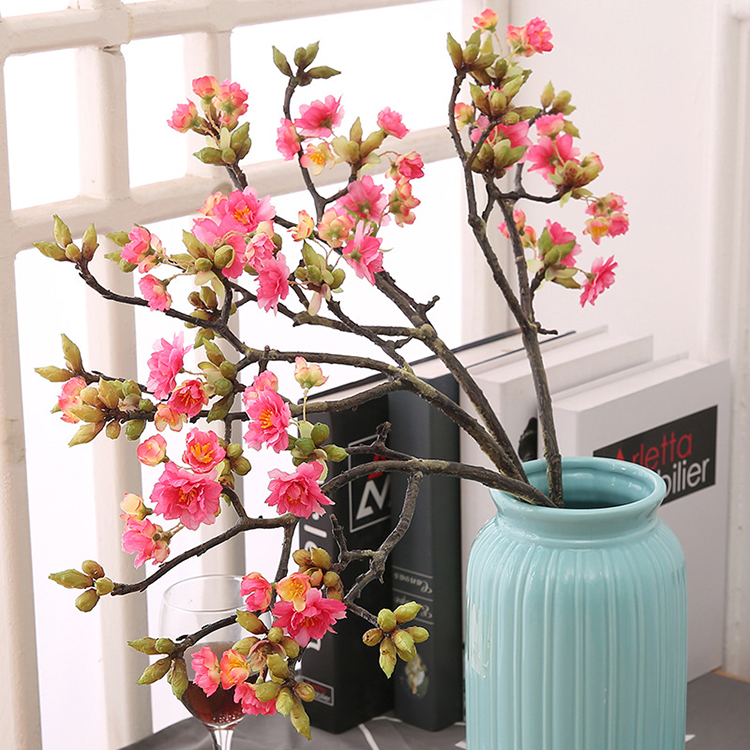 Good quality artificial flower wholesale sakura for home decoration