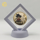 Custom Make Commemorative Coin Japan Dragon Gold Plate Coins Challenge Coin for Souvenir and Gift