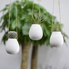 New Design Ceramic Hanging Wall Plant Pot For Outdoor Decor