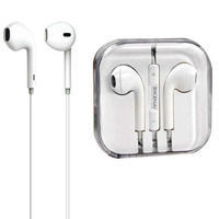 2019 Leading Mic+Volume Mobile Phone 3.5MM Wired Earphone Earpod Hand Free Earbuds For Iphone Apple Earphone For Ipod