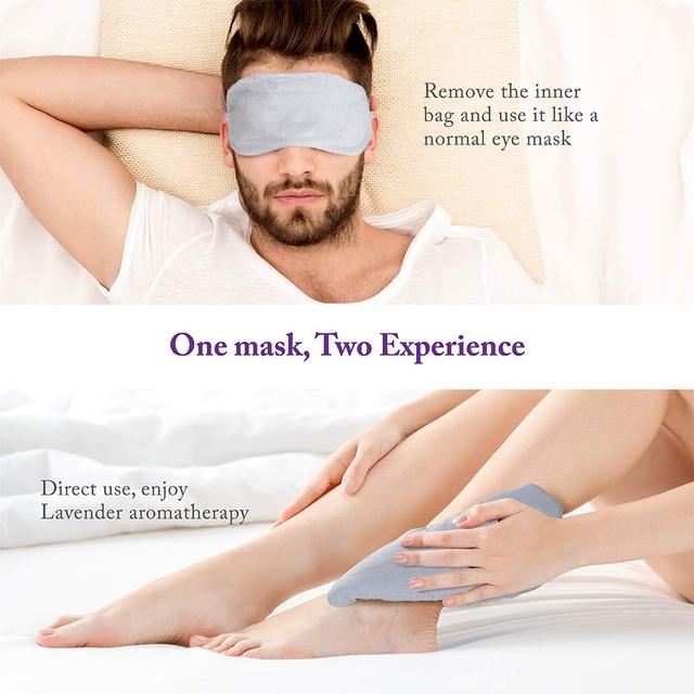 Lavender Eye Pillow Aromatherapy Eye Mask For Sleeping Hot Therapy Eye Cover For Yoga Weighted Sleep Mask For Adults Buy Hot Therapy Eye Cover For Yoga Headache Puffy Eyes Migraine Relief