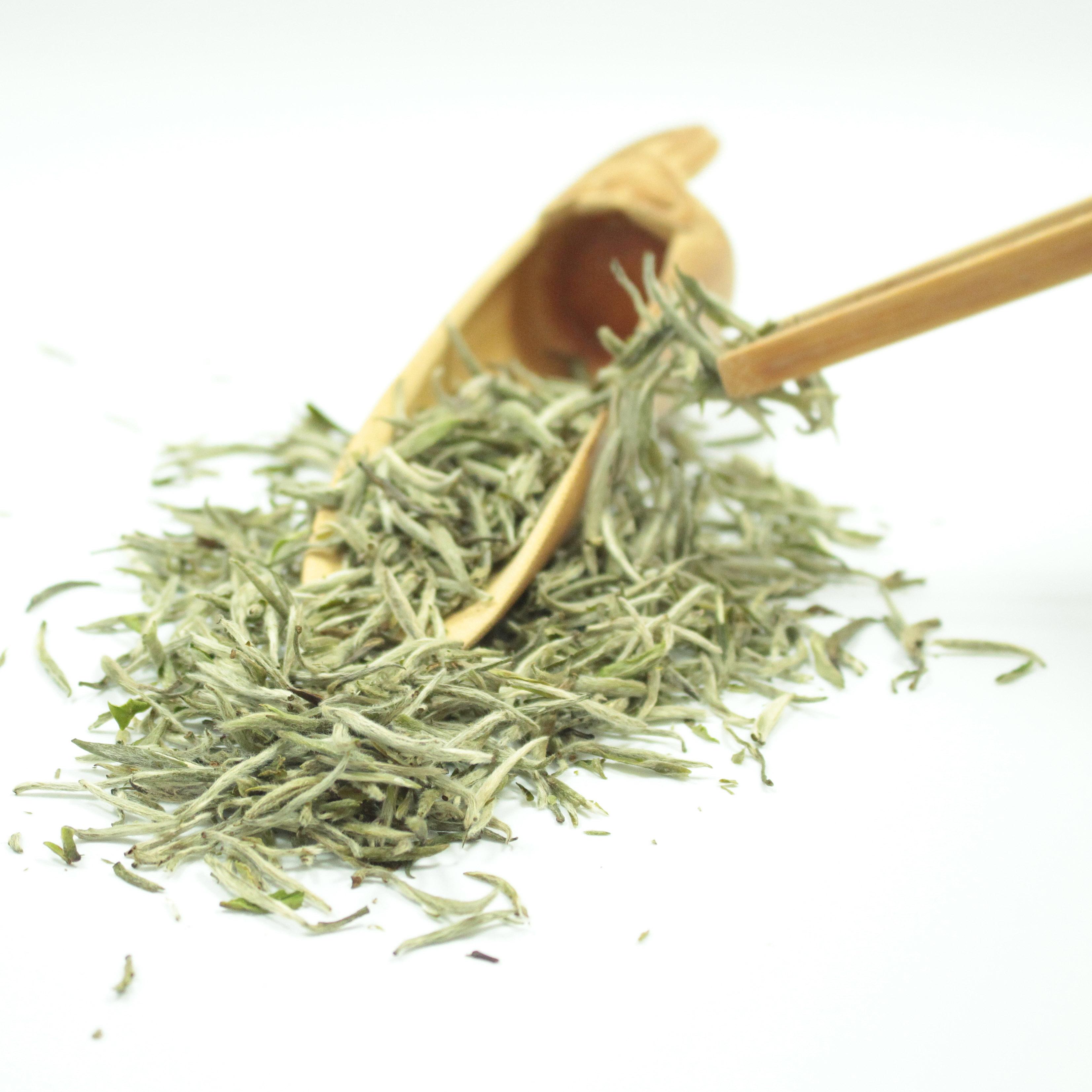 Silver Needle/bai hao yin zhen white loose leaf tea organic quality - 4uTea   4uTea.com