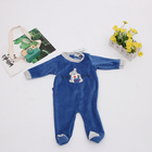 New Arrival Unisex Baby Cartoon Pattern Footed Romper