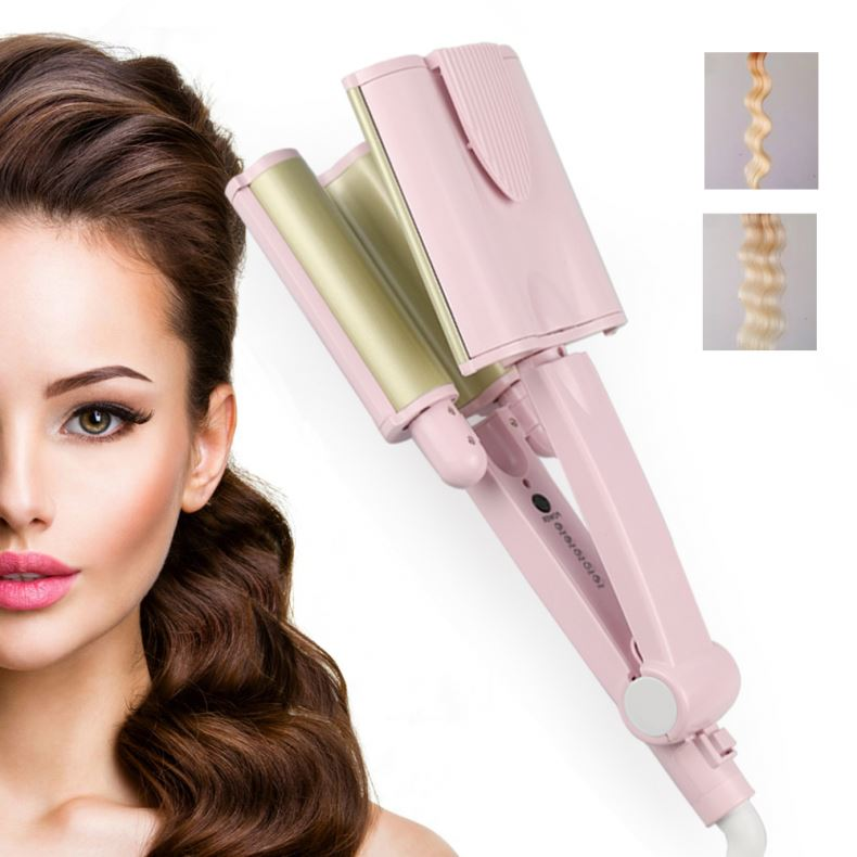 Auto Rotating Curling Iron New Wholesale High Quality Hair Style Sets Flat Iron Hair Curler Easy Use Hair Curler