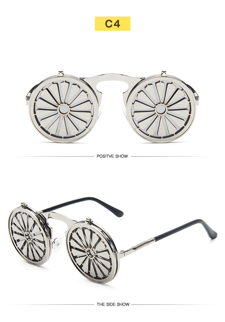 Fuqian Best large frame womens sunglasses customized for women-23