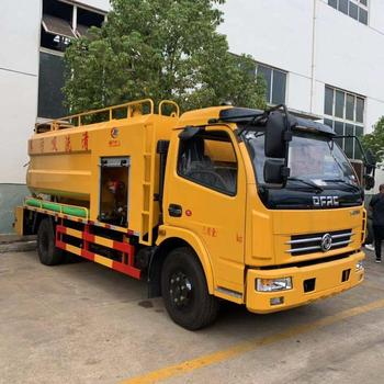 factory outlet sewage vacuum suction and high pressure pipe cleaning truck with euro v engine for Kazakhstan