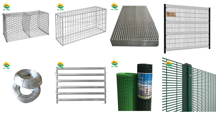 welded wire mesh gabion Hesco bassion