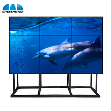 Super slim <span class=keywords><strong>TV</strong></span> wall DEED 46 inch 4K lcd video wall controller