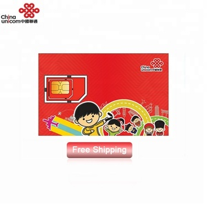 Greater China 30 days 4g wireless cell phone sim cards