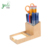 Bamboo Pencil Holder for Storing and Organizing