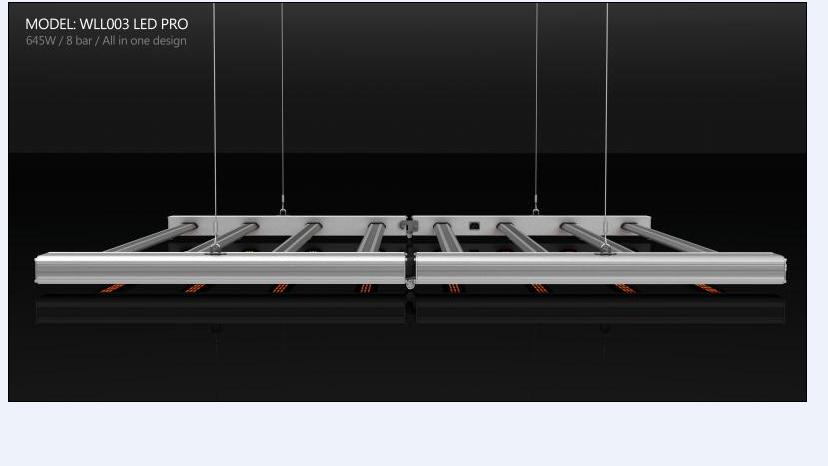 Garansi 5 Tahun ETL DLC Disesuaikan Spektrum Penuh 650W 660W 630W 600W Led Grow Light Rumah Kaca