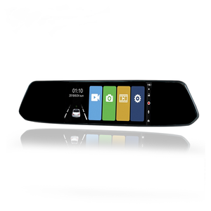 Hot Selling 7 Inch Full HD 1080P Car Rearview Mirror Digital Video Recorder with Dual Lens Car Camera