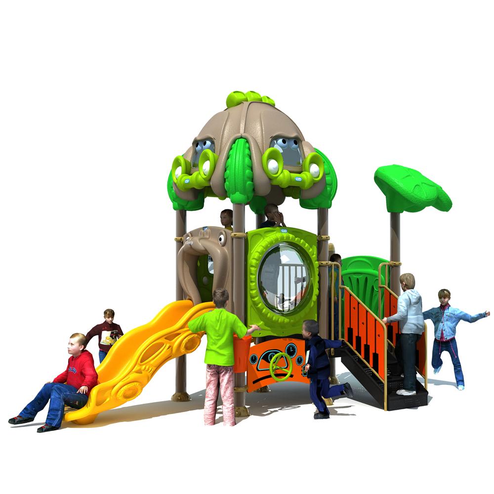 YL-C052 en plastique aire de jeux extérieure enfants équipements de jeux ensembles de jeux extérieurs bon marché pour les enfants