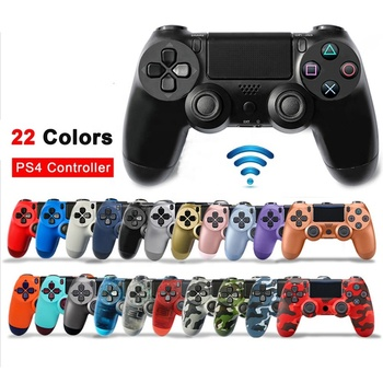 for Playstation Dualshock 4 Joystick Bluetooth PS4 Gamepad for Sony PS4/PS4 Pro Silm PS4 V2 Wireless Controller Game Handle