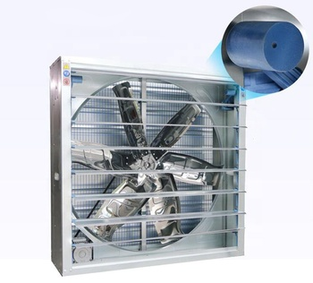 Wall Mounted Heavy Duty high volume air intake exhaust fan system industrial extract fan