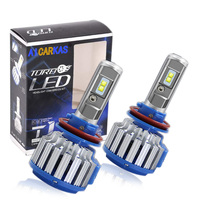 T1 Turbo Led Car Headlight faro bombillo H4 H7 H11 H13 9005 T1 LED Headlight Bulbs
