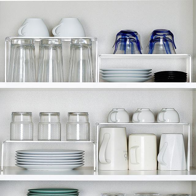 U shaped multi function storage rack/kitchen plastic storage rack