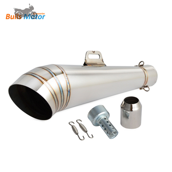 Chinese manufacturer classic motorcycle exhaust for cafe racer/chopper/cruiser/universal motorcycle/scooter