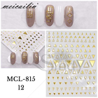 3d Nail Art 3d 3D Nail Art Paper Sticker For Nail