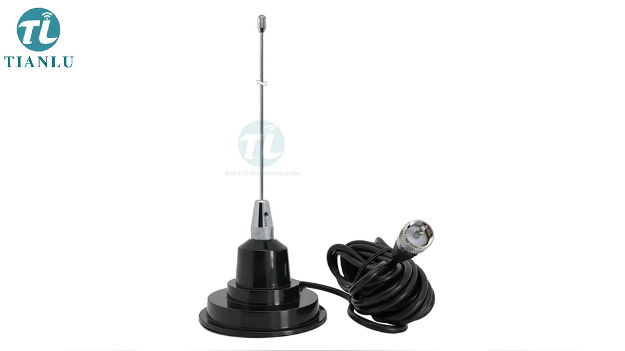 Huslters cb radio antena de techo 27MHz CB Radio antena 26-28MHz coche antena móvil