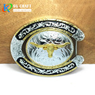 2020 New Design High Quality Engrave Custom Design Logo Name OEM Metal Brass Belt Buckle Zinc Alloy 3D Men Hot Sales